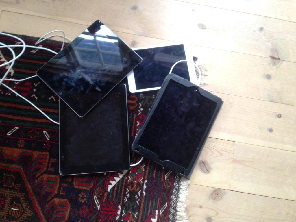 Lading av iPad