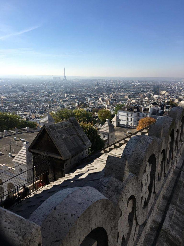 Utsikt til Eiffeltårnet