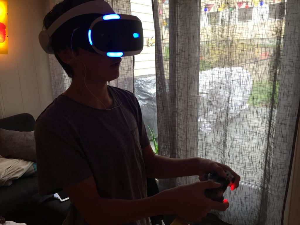VR briller til Playstion