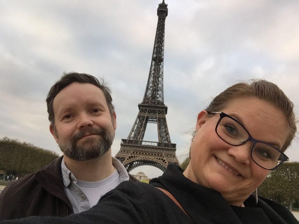 Obligatorisk tur innom Eiffeltårnet