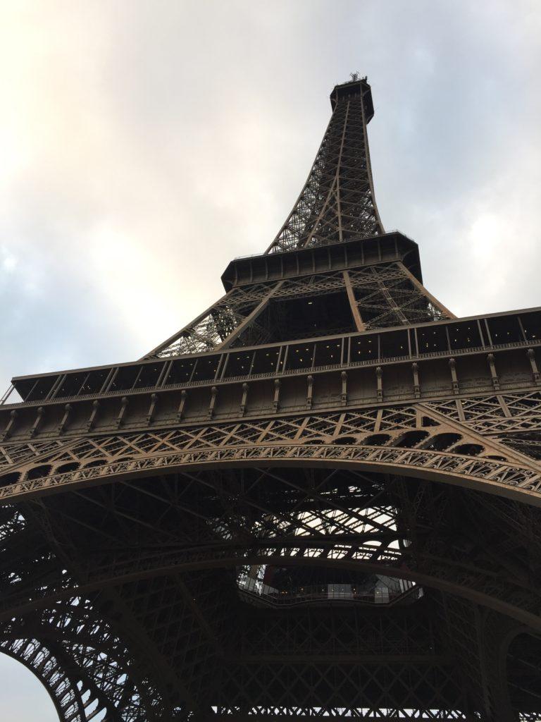 Nært på Eiffeltårnet