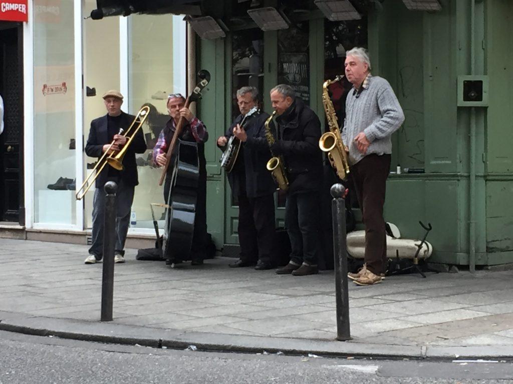 Herremenn spiller jazz for oss