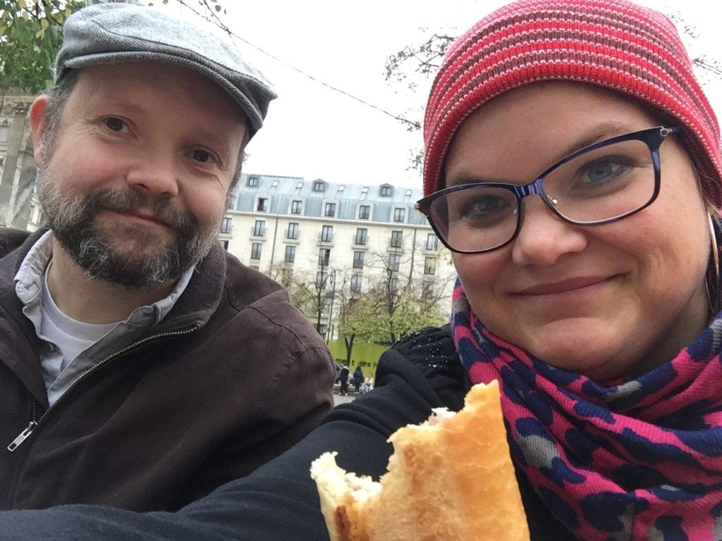 I Frankrike må man spise baguette