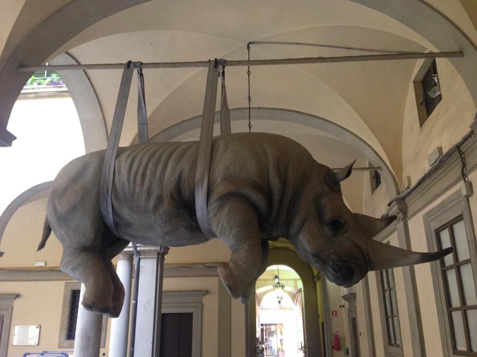 Velkomst til naturhistorisk museum (foto: Christin)